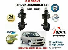FOR DAIHATSU SIRION 2000-2005 2X FRONT LEFT + RIGHT SHOCK ABSORBER SHOCKER SET