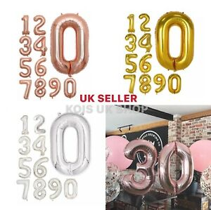 40'' BALLOONS LARGE FOIL SPECIAL BIRTHDAY PARTY WEDDING ANNIVERSARY DECORATIONS