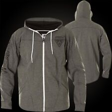 AMERICAN FIGHTER Affliction Balanced Line Zip Hoody Grau Jacken Herren