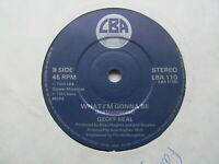 """GEOFF SEAL What I'm Gonna Be/Instrumental UK 7"""" Single EX Cond"""