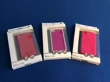 Cell phone case, for iPhone 4/4S, impact resistant, available in red or pink