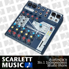 Soundcraft Notepad 8FX Mixer 8 Channel USB Mixing Desk - w/2 Years Warranty.