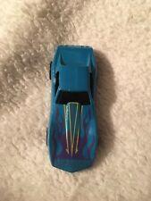 Hot Wheels Blue Corvette Stingray Purple Flames Color Racers Changers