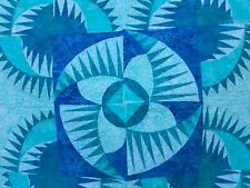 Blue Forest Walk Wall Hanging Quilt
