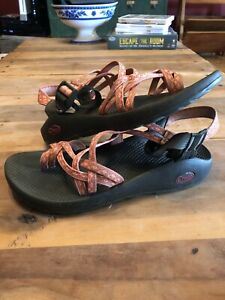 Chaco ZX/2 Classic Limerick Nectar Comfort Sandal Women's size 8 Hiking Beach