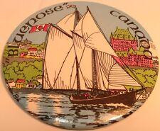 "Vintage 3"" Button BLUENOSE CANADA ~ SAILBOAT~ Ancien Macaron BATEAU A VOILES"
