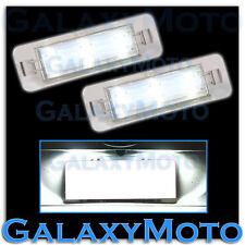 10-14 FORD MUSTANG 6K White LED License Plate+Rear Facing Running Lights Lamp