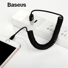 Cable de iluminación 8pin Primavera Baseus Retráctil Cargador USB de sincronización de datos para iPhone X