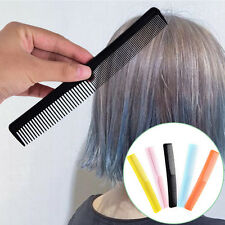 5x Salon Anti static Hairdressing Hair Cutting Plastic fine tooth Comb ToolNTPD