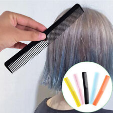 5x Salon Anti static Hairdressing Hair Cutting Plastic fine tooth comb Tool DK