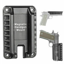 Quick Draw Handgun Firearm Magnetic Mount Gun Holster Holder Magnet New Usa Ship