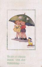 Agnes Richardson A/S Vintage Postcard