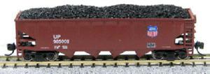 Con-Cor # 14494(1) 75-Ton 4-Bay Open Hopper w/Load Union Pacific 985009 N  MIB