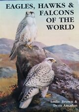 Eagles, Hawks and Falcons of the World by Leslie Brown, Dean Amadon (Hardback, …