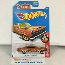 '66 Ford 427 Fairlane #95 * Orange * 2016 Hot Wheels * NH6