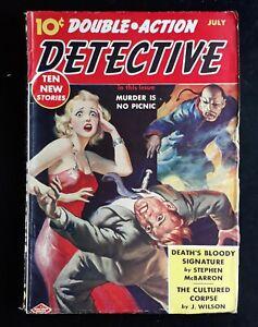 Double-Action Detective Pulp Magazine 7/ 1940