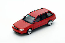 S4883 Spark: 1/43 Audi S6 Plus Avant Hi-Performance Package 1994 (Red)