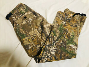 Rare Scent Blocker Realtree Camo Camouflage Cargo Hunting Pants Mens Large S3