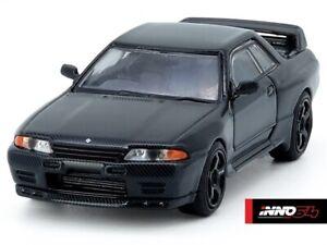 INNO64 1:64 Nissan Skyline R32 GT-R Black Carbon