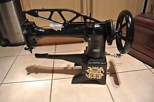 Singer 29K15 Cylinder Arm Boot Patcher or COBBLERS Industrial Sewing MACHINE