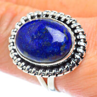 Lapis Lazuli 925 Sterling Silver Ring Size 9.25 Ana Co Jewelry R55693F