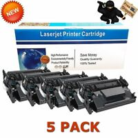 5 Black CF226X 26X Toner Cartridges for HP LaserJet Pro M402n M402dn M426fdw MFP