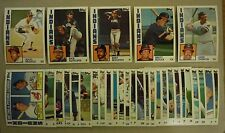 1984 Topps Cleveland Indians Team Set with Traded 31 Cards Julio Franco Blyleven