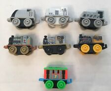 2016 Thomas Train Minis Neon Dino Robot Old School Spencer Toby Charlie Lot Of 7