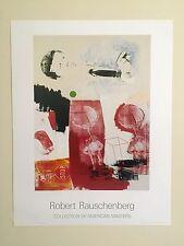 """ROBERT RAUSCHENBERG ORIGINAL OFFSET LITHOGRAPH PRINT POSTER """" QUOTE """" 1964"""
