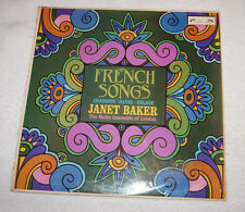 LP : Janet Baker - French Songs - Chausson - Ravel - Delage (1967)