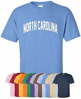 """North Carolina"" T-Shirt in S-4XL, 30+ Colors! tar heels state wolfpack piedmont"