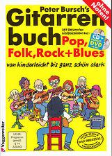 Gitarrenbuch Peter Bursch; Gitarre spielen lernen; Noten für Gitarre