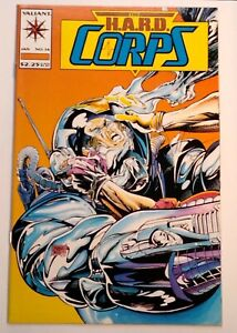 Comic Book-The H.A.R.D. Corps #14 - Jan 1994 - Valiant Comics - Uncertified- VF+
