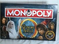 Italian Lord of the Rings Monopoly board game in Very good condition. Hasbro.