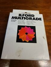 Ilford Multigrade 3 1/2 x 3 1/2 Set of 12 Filters - Great Condition