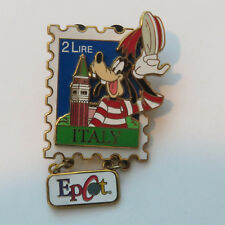 Disney EPCOT Stamp Pin Series #5 - Italy Goofy Pin
