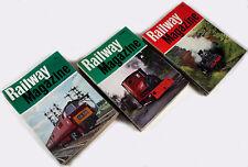 """LOT OF 36 VINTAGE BRITISH """"THE RAILWAY MAGAZINE""""! 1964 THRU 1975 - EX CONDITION!"""
