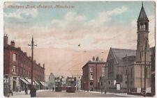 Stockport Road Ardwick, Manchester Tram Postcard B638