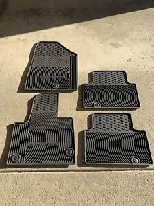2017 Hyundai Santa Fe winter floor mats and Rear Cargo mat.