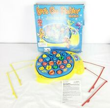 Let's Go Fishin Catch Fish Game Deluxe Kids Preschool Motorized Action Complete