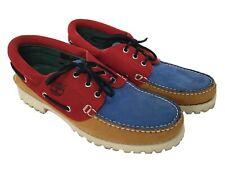 Timberland Multi-coloured Leather Boat Shoe UK 8.5 W