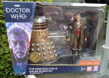 """DOCTOR WHO """" THE WAR DOCTOR AND DALEK SCIENTIST SET """" NEW IN UNIOPENED BOX"""