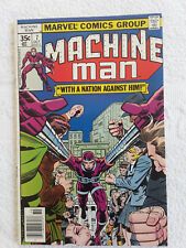 Machine Man #7 (Oct 1978, Marvel) Vol #1 Newsstand Fine+