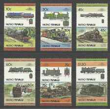 Timbres Trains Niutao Tuvalu 2 ** lot 9665