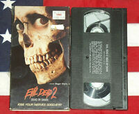 Evil Dead 2 Dead by Dawn (VHS, 1987) Bruce Campbell, Rare Shrinkwrap Horror