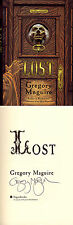 Gregory Maguire SIGNED AUTOGRAPHED Lost HC 1st Ed1st P Scrooge A Christmas Carol