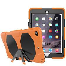 für Apple iPad 9,7 Zoll 2017 rundum Schutz Cover Silikon Display Schutz Folie