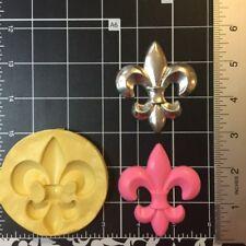 Fleur De Lis silicone Mold #4 Fondant, Candy, Polymer Clay....