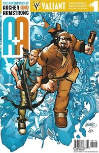 A&A: The Adventures of Archer & Armstrong #1 (Mar 2016) Valiant Comics