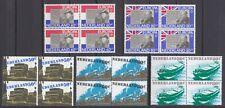kavel blokjes van 4 zegels 1980 (3) postfris (MNH)